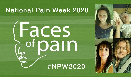 Faces of chronic pain for National Pain Week